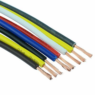 Tri Rated PVC Copper Cable Wire Auto Automotive Marine 12V - 0.5mm² 10mm²