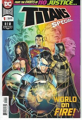 TITANS SPECIAL #1 (DC - 2018) Nightwing! No Justice Tie-In! 48 pages! NM