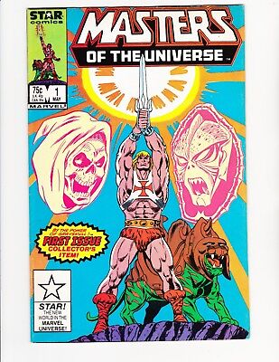 Masters Of The Universe Issue #1  (Marvel/star) 1986 Volume 1