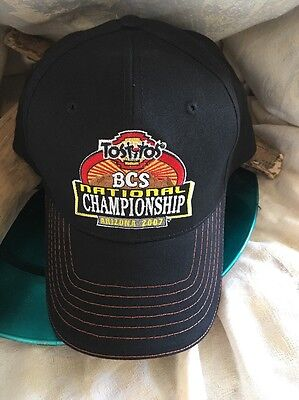 2007 BCS National Championship Frito Lay Baseball Cap Hat Embroidered