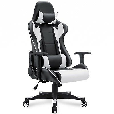 Homall Gaming Chair Racing Style High Back PU Leather Chair Executive and Ergono