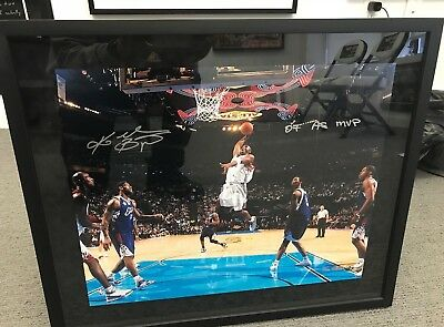competitive price 45a09 be3fb Kobe Bryant UDA Autographed 07 All Star 16.x20 40 out of 50
