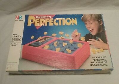 The game of perfection 1989 Milton Bradley, tested 100% complete no instructions