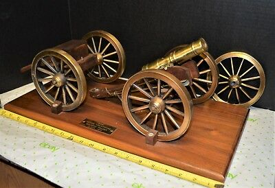 Vintage Civil War Replica Cannon 1977 Made by Machinist Vocational Senior Class