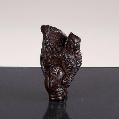 Signed Netsuke Antique 19th century Japan Edo