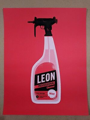 Olly Moss Leon: The Professional Poster Print Gallery 1988 Mondo