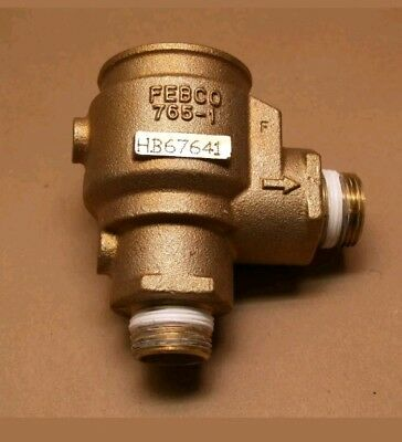 "New Oem Febco 765 1"" Brass Body Assembly For Pressure Vacuum Breaker Pvb"
