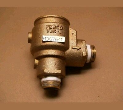"NEW OEM FEBCO 765 1"" BRASS BODY FOR PRESSURE VACUUM BREAKER PVB w CHECK VALVE"