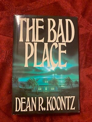 The Bad Place by Dean R. Koontz, (Hardcover, 1990) BCE
