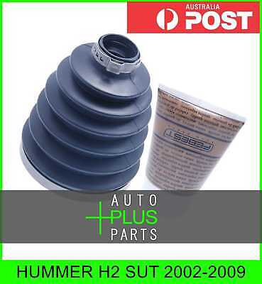 Fits HUMMER H2 SUT Boot Outer Cv Joint Kit 98X119.5X30