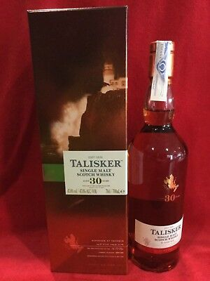 Whisky Talisker  30 years 2017.  45,8% vol