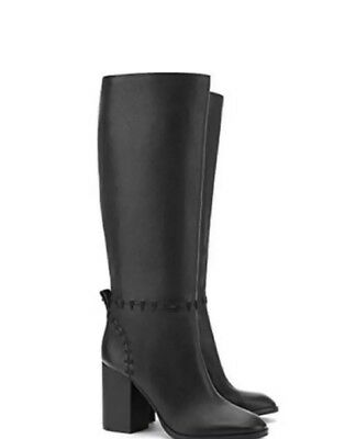 3ba06c04734 NIB  525 Tory Burch 42750-001 Black Contraire 90 mm Boot Golf Nappa Size 7.5