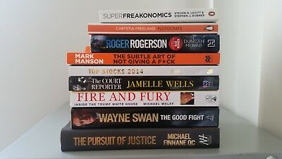 The Pursuit of Justice, The Court Reporter, The Subtle Art of .. And Other Books