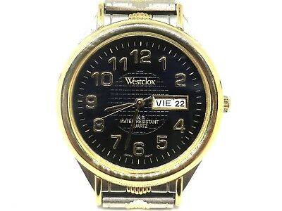 Westclox men Quartz Watch 100 ft water Resistant New Battery