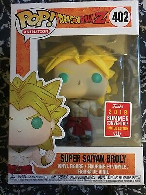 Funko Pop! Animation Sdcc 2018 Broly Exclusive Dragon Ball