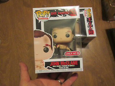 FUNKO POP MOVIES DIE HARD JOHN McCLANE  # 672 EXCLUSIVE TARGET 2018