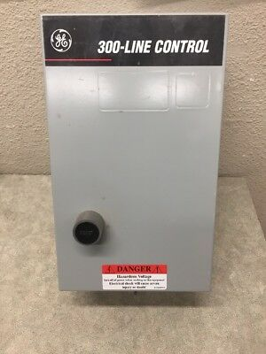 Ge General Electric 300-Line Cr306K1 Starter Size 0 600V Nema 1 Enclosure 1Ph