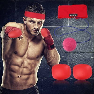Boxing Punching Training Speed Ball Tennis Punch Fitness Sports Equipment ES