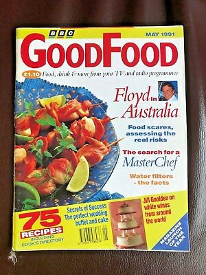 BBC Good Food Magazine, May 1991, The Perfect Wedding Buffet and Cake