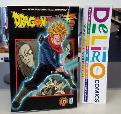 DRAGON BALL SUPER N.5 LIMITED EDITION Ed.STAR COMICS SCONTO 10%
