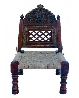 Carved Folding Pida Chair