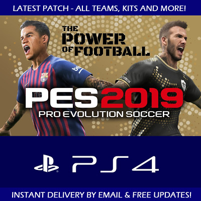 Pro Evo Pes 2019 Ps4 Option File - All Teams Kits And More Plus Free Updates