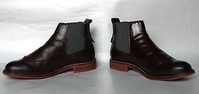 innovative design f6a95 9685f MARC O'POLO DAMEN 61010145001125 Flat Heel Chelsea Boots Rot (Bordo), Gr.  39 EU