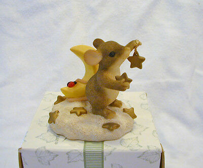 Charming Tails YOU ARE MY SHINING STAR Figurine Club Member Edition 1999 w/card