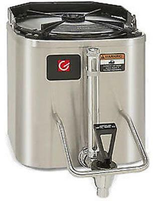 Grindmaster CS-LL 1.5 Gallon Radiant Heated Stainless Steel Coffee Shuttle