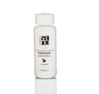 Hair Purifying Treatment Shampoo For Greasy / Oily Hair With Plant Extract
