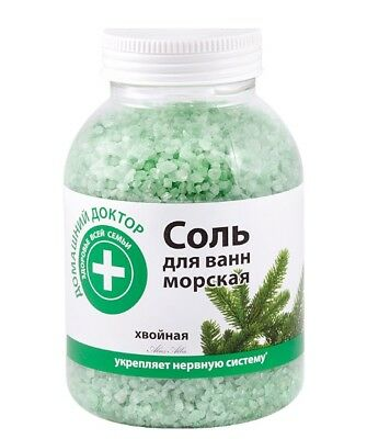 Bath sea SALT Coniferous Needles Soothes Relieves Fatigue 1000g Home Doctor 7898