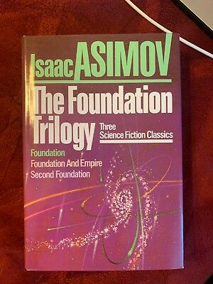 The Foundation Trilogy, Isaac Asimov, Good Condition, Book