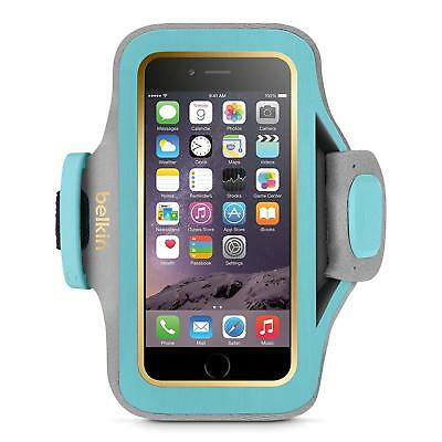 "Belkin slim-fit plus Turquoise Armband for iPhone 6/6S 7.5 - 12 "" New Open Box"