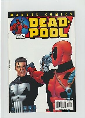 Deadpool #54 (July 2001, Marvel) NM (9.4) Punisher Cover/Story !!!!!!!