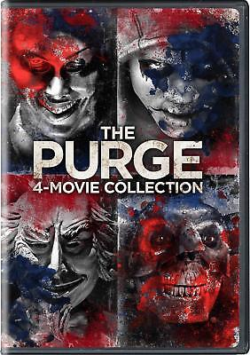 The Purge 1-4 Movie Collection Collection DVD Box Set All 4 Films Series New