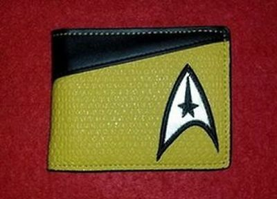 Porte Feuilles Star Trek (Command - Machine - Scientifique)