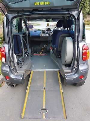 Fiat Multipla 1.9Jtd Diesel Elx Upfront Wheelchair Passenger Vehicle Brotherwood