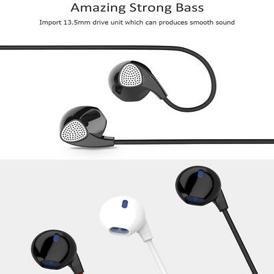 UIISII U1 In-Ear Wired Heavy Bass Earphones Strong Bass Headset With HD Mic 1.2m