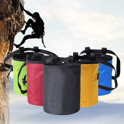 Bouldering Rock Waist Bag Magnesium Powder Chalk Bag Non-slip Pouch For Climbing