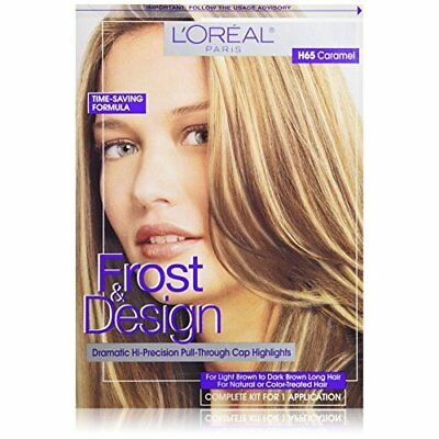 Loreal Paris Frost And Design Cap Hair Highlights For Long Hair