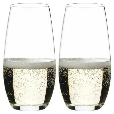NEW Riedel O Series Champagne Set 2pce