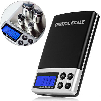 Mini Digital Pocket Mini Scale Gold Silver Jewelry Weight Balance Tool Device