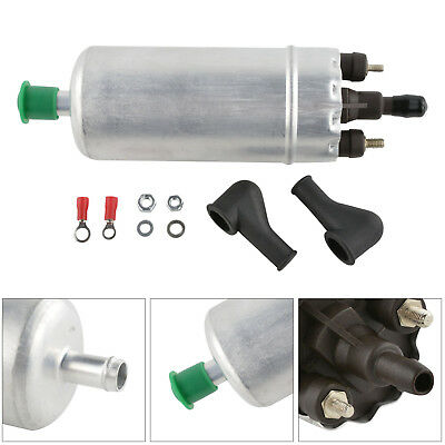 HIGH POWER 12V FUEL PUMP SPADE CONNECTORS 15mm IN 8mm OUT PETROL DIES