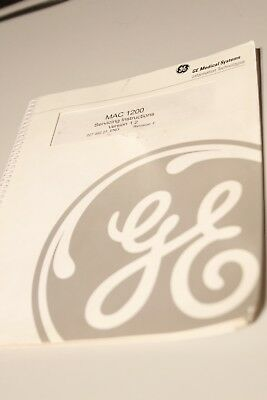 GE MAC 1200 Servincing Instructions Version 1.2 Rev F
