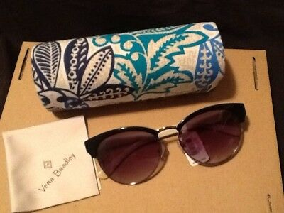 06850ff46231 NEW Vera Bradley Blanche Sunglasses Santiago with Matching Case and Cloth