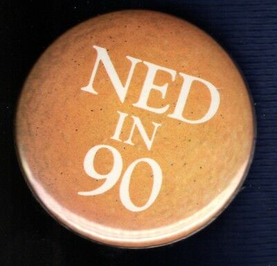 Ned Mcwherter Tennessee Governor Volunteer Political Campaign Pinback Button #3
