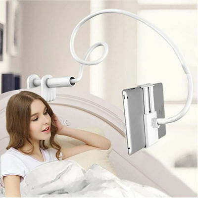 360 Gooseneck Table Bed Clamp Stand Holder Mount For iPad Tablet Flexible Arm US