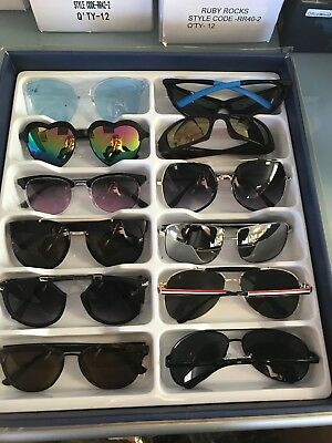 Job Lot 24 pairs of assorted sunglasses - Car Boot - Resale - Wholesale -REF202