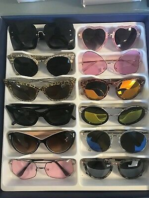 Job Lot 24 pairs of assorted sunglasses - Car Boot - Resale - Wholesale -REF204