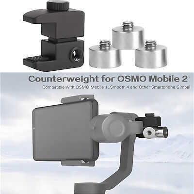 Counterweights Holder For DJI OSMO Mobile 2 / Zhiyun Smooth 4 Gimbal Accessories